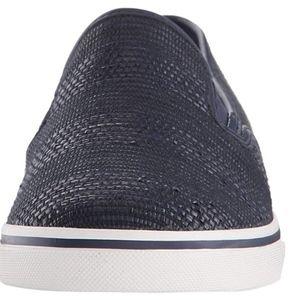 Ralph Lauren Shoes - Ralph Lauren Janis navy blue slip on sneaker